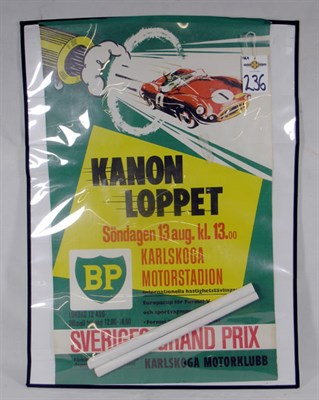 Lot 236-Two Race Posters