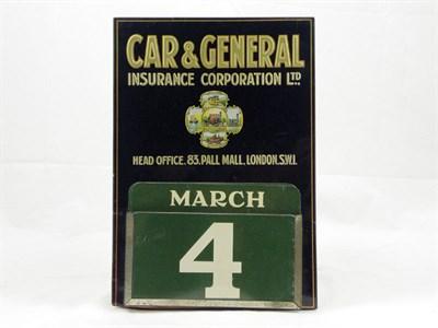 Lot 704 - Car & General Insurance Wall Calendar
