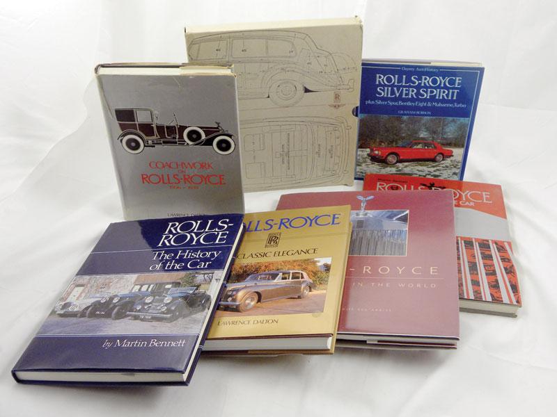 Lot 124-Quantity of Rolls-Royce Books