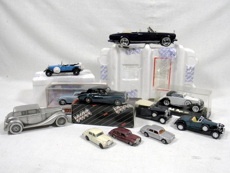 Lot 209 - Quantity of Rolls-Royce Models