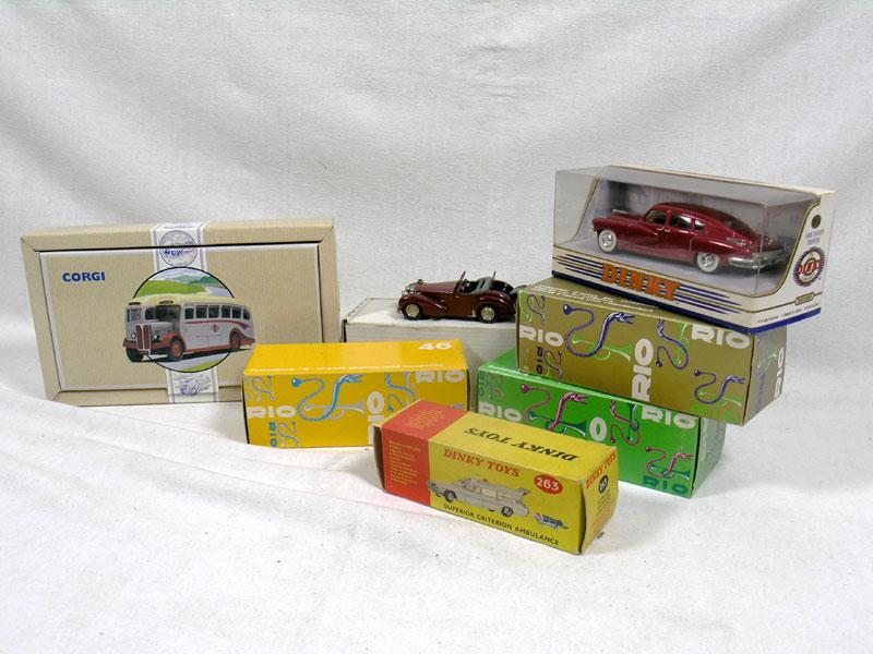 Lot 211 - Quantity of Boxed Models