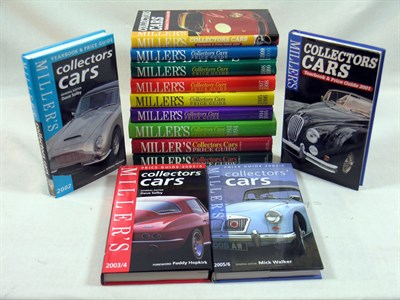 Lot 128 - Millers Collectors Cars Price Guides