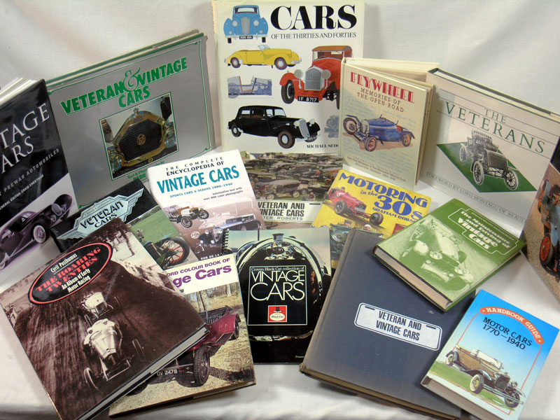 Lot 130-Quantity of Vintage & Veteran Car Books