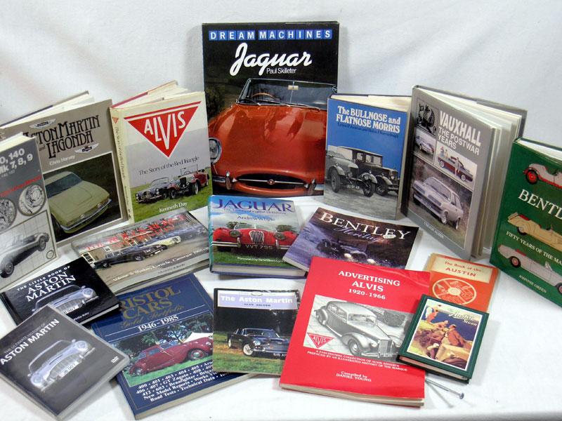 Lot 134 - British Marque History Books