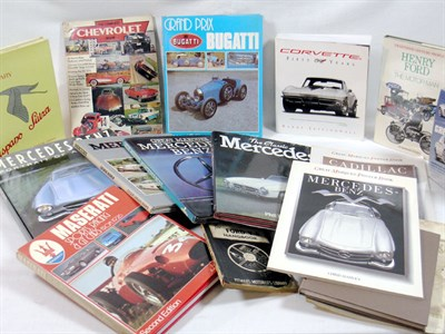 Lot 138-International Marque History Books