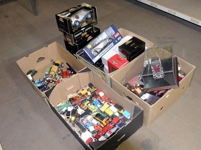 Lot 212 - A Collection of Model Cars
