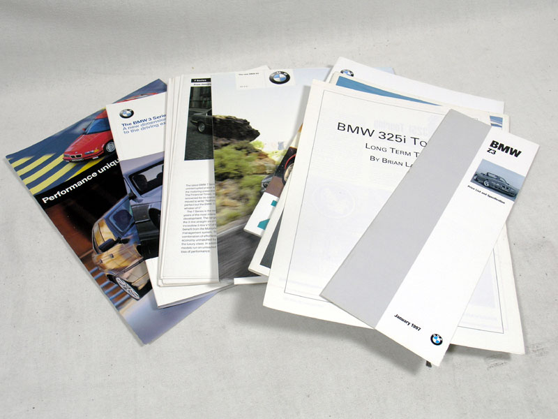 Lot 142-Quantity of BMW Brochures