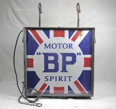 Lot 706 - A BP Illuminated Lightbox