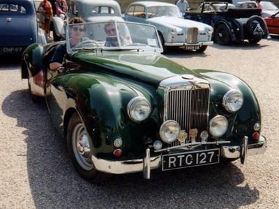 Lot 51-1953 Alvis TB21 Roadster