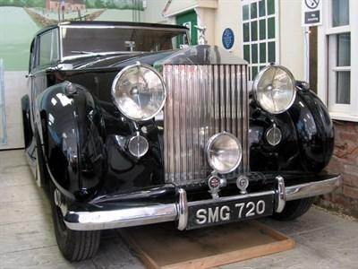 Lot 18-1947 Rolls-Royce Silver Wraith
