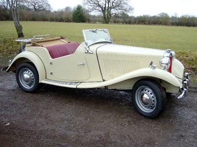 Lot 28-1952 MG TD
