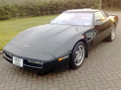 Lot 14-1990 Chevrolet Corvette ZR-1