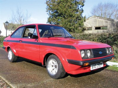 Lot 15-1978 Ford Escort RS 2000