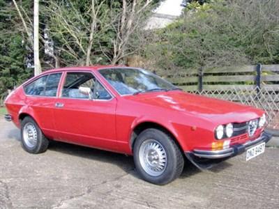Lot 16-1978 Alfa Romeo Alfetta 2000 GTV