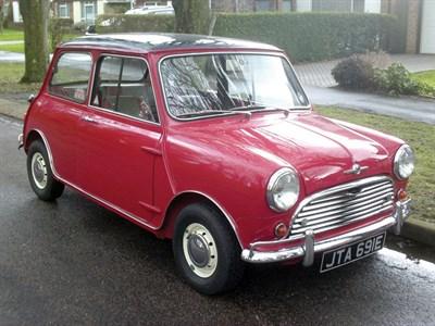 Lot 57-1966 Morris Mini Cooper S