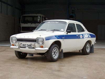 Lot 25-1975 Ford Escort RS 1600