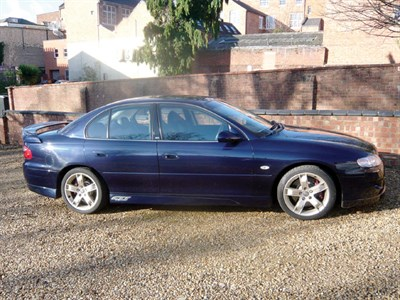 Lot 40-2001 Holden Commodore VX GTS