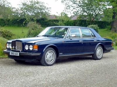 Lot 22-1986 Bentley Eight
