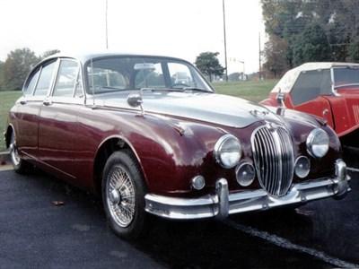 Lot 59-1960 Jaguar MK II 3.8 Litre