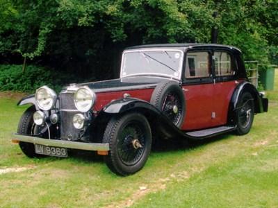 Lot 16-1934 Alvis Speed 20 SB Saloon