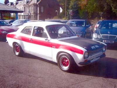 Lot 61-1972 Ford Escort Competition Car