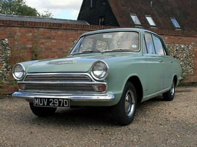 Lot 63-1966 Ford Cortina 1200