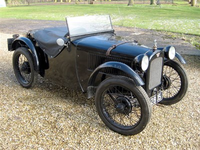 Lot 36-1927/31 Austin Seven Ulster Style Two-Seater Sports
