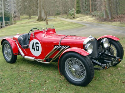 Lot 19-1936 AC 16/80 Sports Special