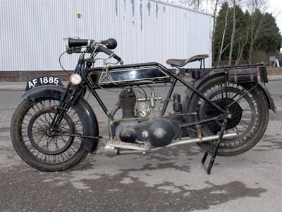 Lot 3-1925 Sunbeam 3 1/2hp