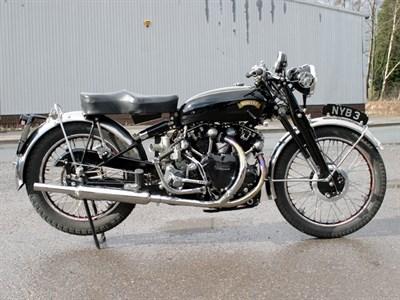 Lot 12-1951 Vincent Black Shadow Series C