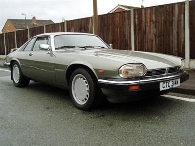 Lot 25-1987 Jaguar XJ-S 5.3