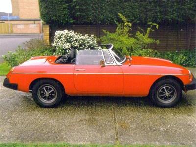 Lot 26-1976 MG B Roadster