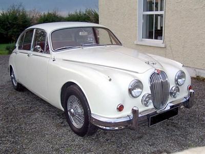 Lot 22-1967 Jaguar MK II 3.4 Litre