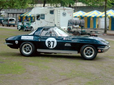 Lot 59 - 1963 Chevrolet Corvette Sting Ray Convertible Race Car