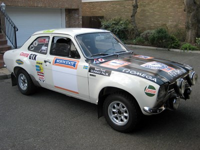 Lot 34-1969 Ford Escort Twin Cam Rally Car