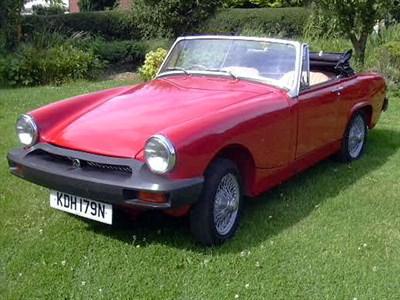 Lot 13-1975 MG Midget 1500