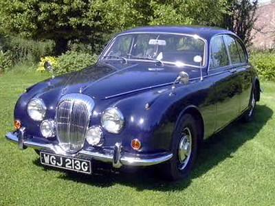 Lot 14-1969 Daimler V8-250