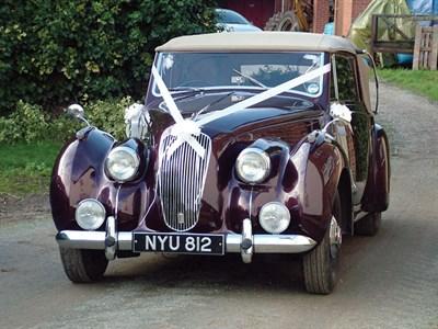 Lot 55-1953 Lagonda 2.6 Litre Drophead Coupe