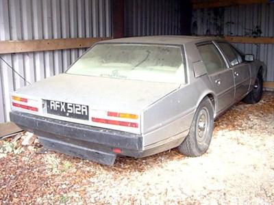 Lot 8-1980 Aston Martin Lagonda
