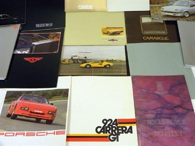 Lot 114-Quantity of Sales Brochures