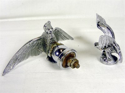 Lot 311-Two Flying Eagle Accessory Mascots