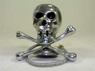 Lot 319-Illuminated Skull & Cross Bones Accessory Mascot
