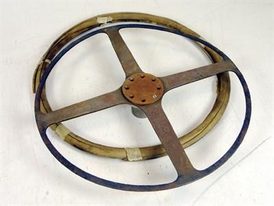 Lot 330-Rene Thomas Steering Wheel