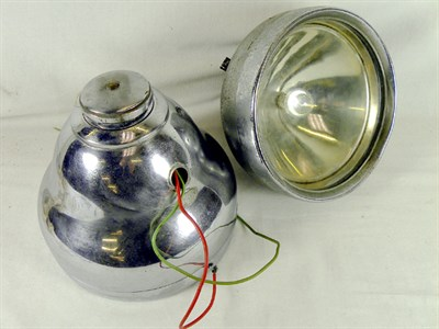 Lot 332-A Pair of Rotax Headlamps