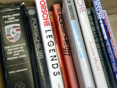 Lot 102-Quantity of Porsche Books
