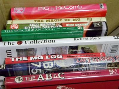Lot 104-Quantity of MG Books