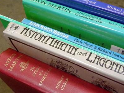 Lot 106-Quantity of Aston Martin Books