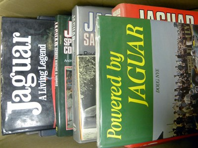 Lot 107-Quantity of Jaguar books
