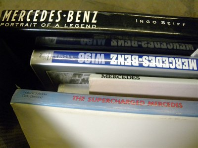 Lot 108-Quantity of Mercedes-Benz Books