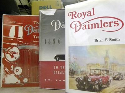 Lot 110-Three Daimler Books